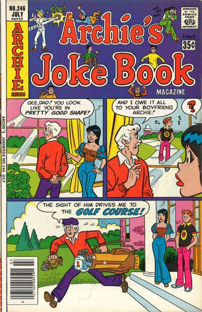 Cover for Archie's Joke Book Magazine (Archie, 1953 series) #246