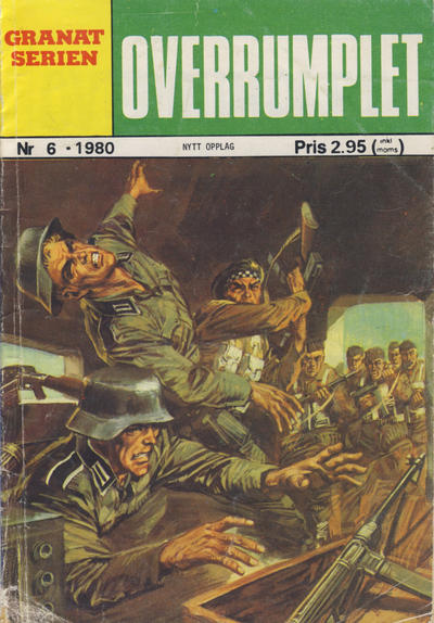 Cover for Granat Serien (Atlantic Forlag, 1976 series) #6/1980