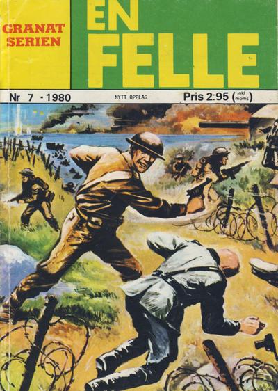 Cover for Granat Serien (Atlantic Forlag, 1976 series) #7/1980