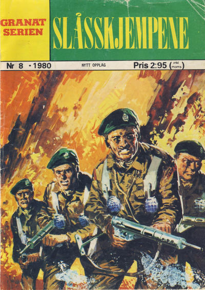 Cover for Granat Serien (Atlantic Forlag, 1976 series) #8/1980