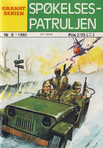 Cover for Granat Serien (Atlantic Forlag, 1976 series) #9/1980