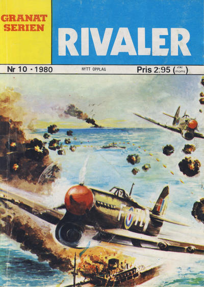 Cover for Granat Serien (Atlantic Forlag, 1976 series) #10/1980