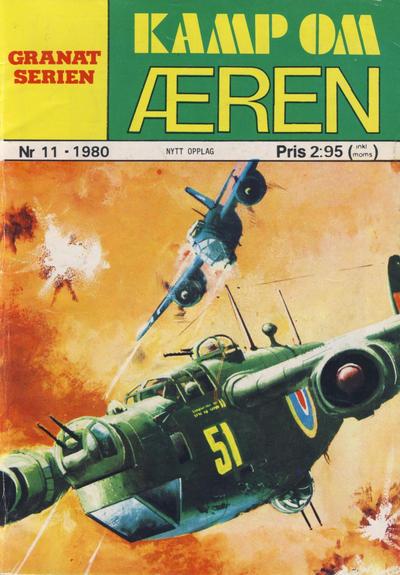 Cover for Granat Serien (Atlantic Forlag, 1976 series) #11/1980