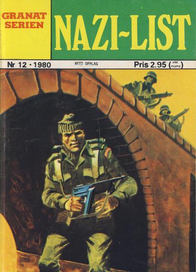 Cover for Granat Serien (Atlantic Forlag, 1976 series) #12/1980
