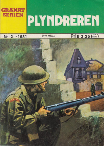 Cover for Granat Serien (Atlantic Forlag, 1976 series) #2/1981
