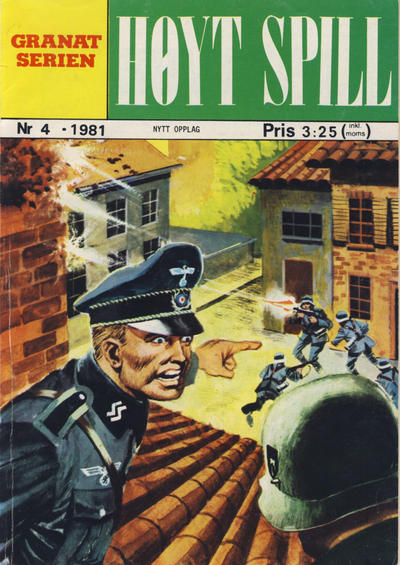 Cover for Granat Serien (Atlantic Forlag, 1976 series) #4/1981