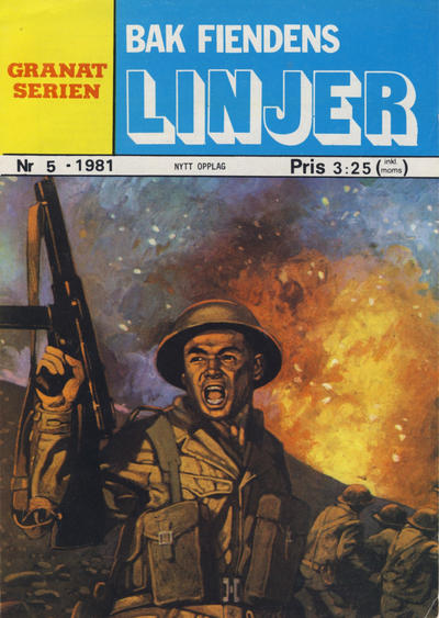 Cover for Granat Serien (Atlantic Forlag, 1976 series) #5/1981