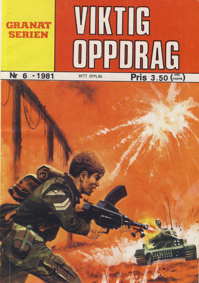 Cover for Granat Serien (Atlantic Forlag, 1976 series) #6/1981