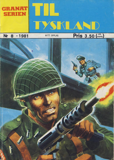 Cover for Granat Serien (Atlantic Forlag, 1976 series) #8/1981