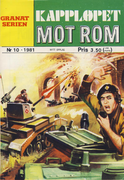 Cover for Granat Serien (Atlantic Forlag, 1976 series) #10/1981