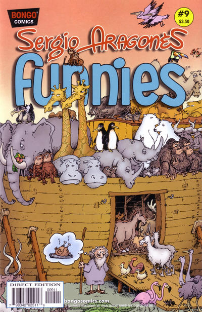 Cover for Sergio Aragonés Funnies (Bongo, 2011 series) #9