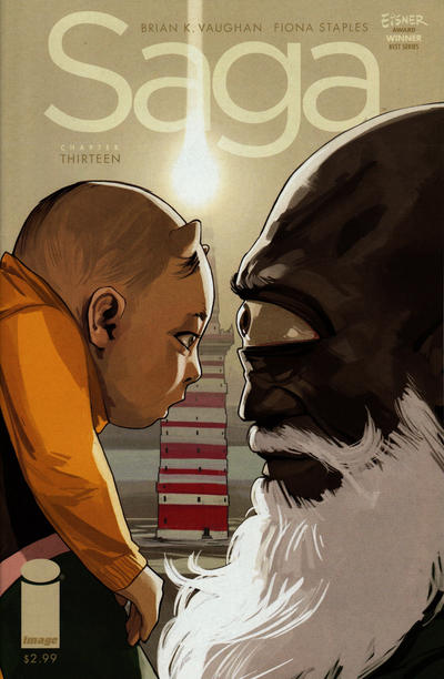 Cover for Saga (Image, 2012 series) #13