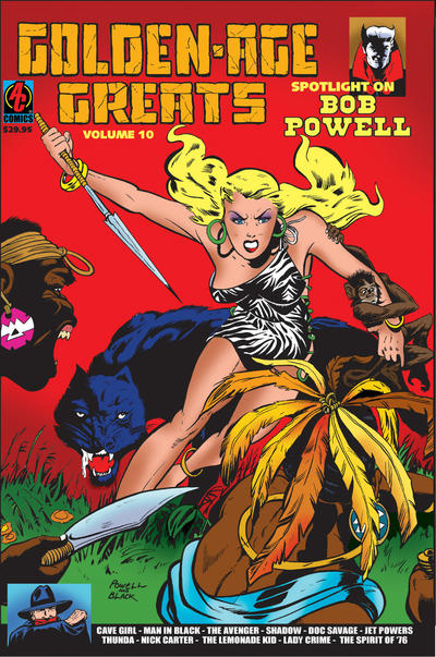 Cover for Golden-Age Greats Spotlight (AC, 2003 series) #10