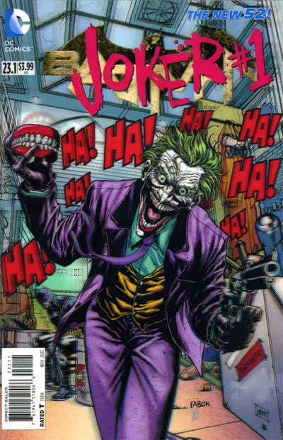 Cover for Batman (DC, 2011 series) #23.1 [3-D Motion Cover]