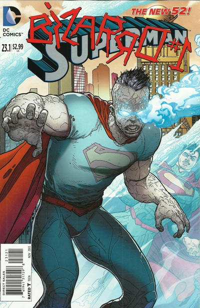 Cover for Superman (DC, 2011 series) #23.1 [Standard Cover]