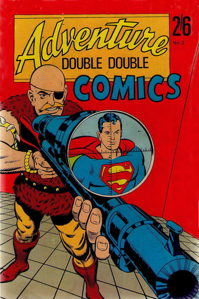 Cover for Adventure Double Double Comics (Thorpe & Porter, 1967 series) #2