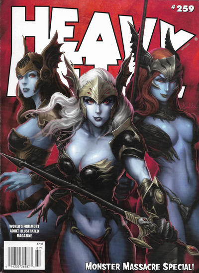 Cover for Heavy Metal Magazine (Heavy Metal, 1977 series) #259
