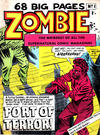 Cover for Zombie (L. Miller & Son, 1961 series) #1