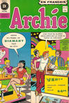 Cover for Archie (Editions Héritage, 1971 series) #13