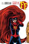 Cover for FF (Marvel, 2013 series) #3 [Medusa Variant Cover by Michael Allred]