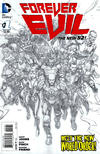 Cover for Forever Evil (DC, 2013 series) #1 [David Finch Sketch Cover]