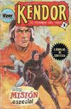 Cover for Kendor (Editora Cinco, 1982 series) #1 [Ejemplar de cortesía]