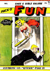 Cover for Pack O' Fun (Magna Publications, 1942 series) #12/1957