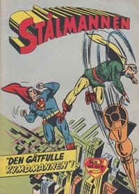 Cover Thumbnail for Stålmannen (Centerförlaget, 1949 series) #2/1960