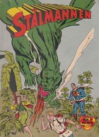 Cover Thumbnail for Stålmannen (Centerförlaget, 1949 series) #6/1960