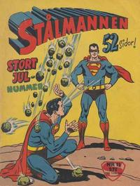 Cover Thumbnail for Stålmannen (Centerförlaget, 1949 series) #13/1960