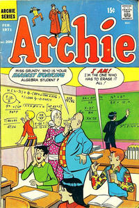 Cover Thumbnail for Archie (Archie, 1959 series) #206