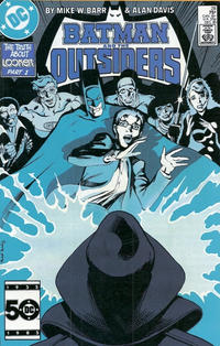 Cover Thumbnail for Batman and the Outsiders (DC, 1983 series) #28 [Direct Sales]