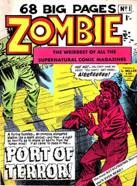 Cover Thumbnail for Zombie (L. Miller & Son, 1961 series) #1