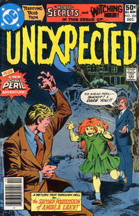 Cover Thumbnail for The Unexpected (DC, 1968 series) #205 [Newsstand]