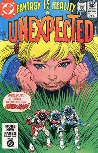 Cover for The Unexpected (DC, 1968 series) #219 [Direct]
