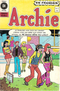 Cover Thumbnail for Archie (Editions Héritage, 1971 series) #5