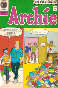 Cover Thumbnail for Archie (Editions Héritage, 1971 series) #10