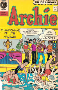 Cover Thumbnail for Archie (Editions Héritage, 1971 series) #14