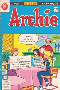 Cover Thumbnail for Archie (Editions Héritage, 1971 series) #96