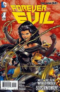 """Cover Thumbnail for Forever Evil (DC, 2013 series) #1 [Ivan Reis, Eber Ferreira & Joe Prado """"Superwoman"""" Cover]"""