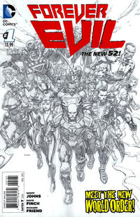Cover Thumbnail for Forever Evil (DC, 2013 series) #1 [David Finch Sketch Cover]