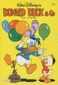 Cover Thumbnail for Donald Duck & Co (Hjemmet / Egmont, 1948 series) #21/1979