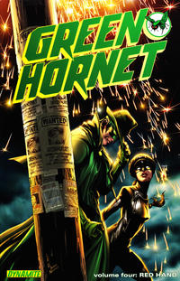 Cover Thumbnail for Green Hornet (Dynamite Entertainment, 2010 series) #4 - Red Hand