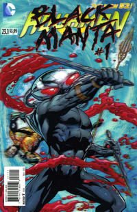Cover Thumbnail for Aquaman (DC, 2011 series) #23.1 [3-D Motion Cover]