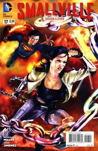 Cover Thumbnail for Smallville Season 11 (DC, 2012 series) #17