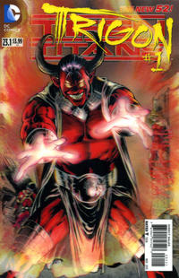 Cover Thumbnail for Teen Titans (DC, 2011 series) #23.1 [3-D Motion Cover]
