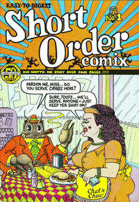 Cover Thumbnail for Short Order Comix (Head Press, 1973 series) #1