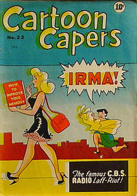 Cover Thumbnail for Cartoon Capers (Bell Features, 1951 series) #22