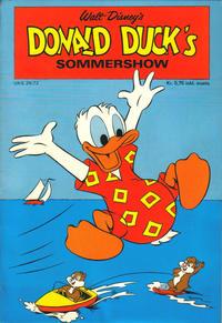 Cover Thumbnail for Donald Ducks Show (Hjemmet / Egmont, 1957 series) #[21] - Sommershow 1972