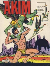 Cover Thumbnail for Akim (Semic, 1977 series) #7/1978
